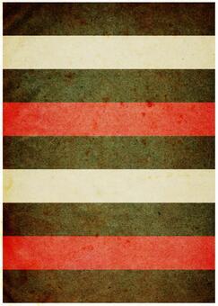 Grunge texture red x white x tea border