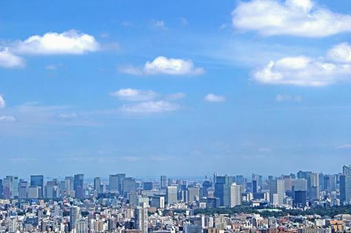 도시의 전망 도쿄 1