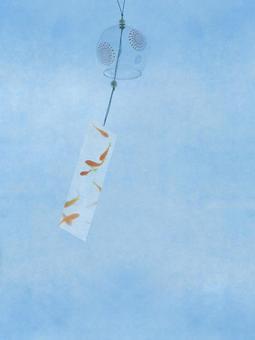 Background · Frame photo (Wind chimes 2)