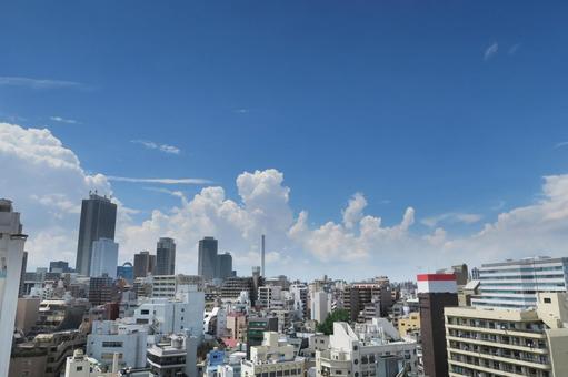 도시와 푸른 하늘