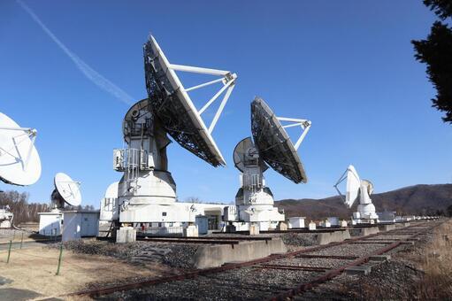 Nobeyama Space Radio Observatory的拋物面天線2