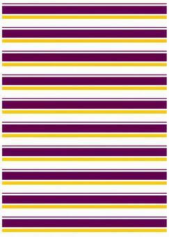 Background material · Design · Purple, yellow, white border
