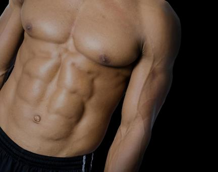 Athlete's abdominal muscle 1