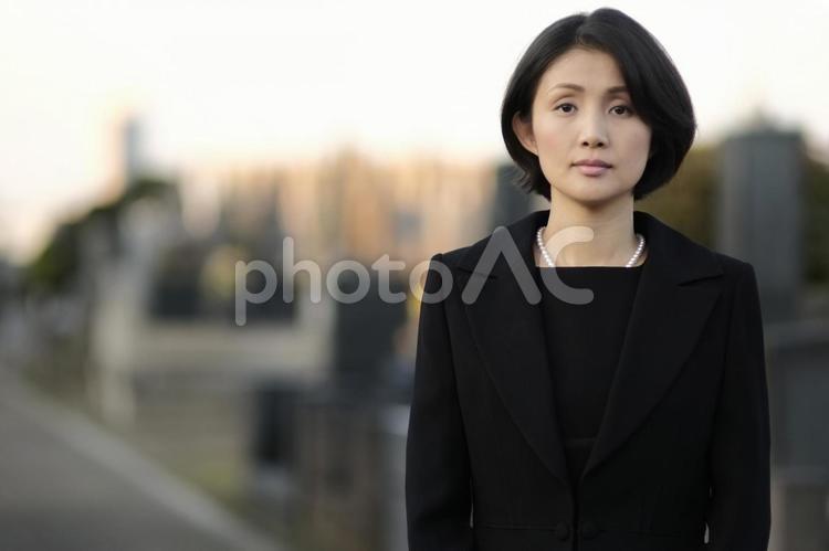 礼服の女性8の写真