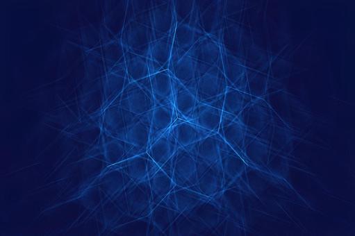 射線幾何藍色抽象背景