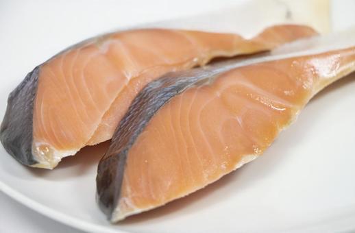 越後村上特產咸鮭魚