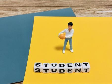 帶球的男孩(學生/學生)