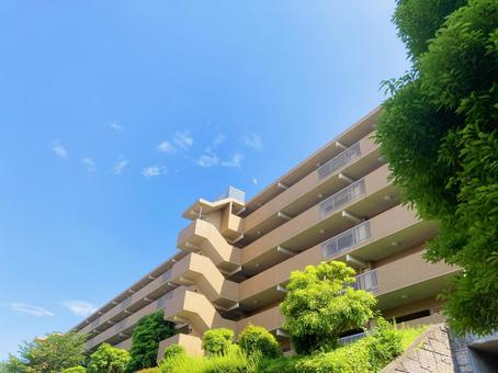 Background material for the exterior of the condominium_c_04