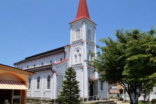 Tsuruoka Catholic Church Catholic Church (National Important Cultural Property)
