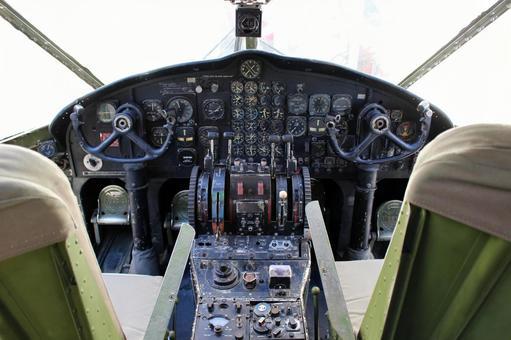Fighter cockpit