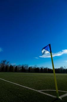 Football / corner flag
