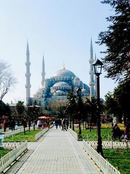 Turkish mosque palace