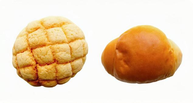 Melon bread and bread rolls 2