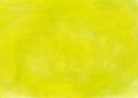 Yellow-green watercolor wind background material wallpaper