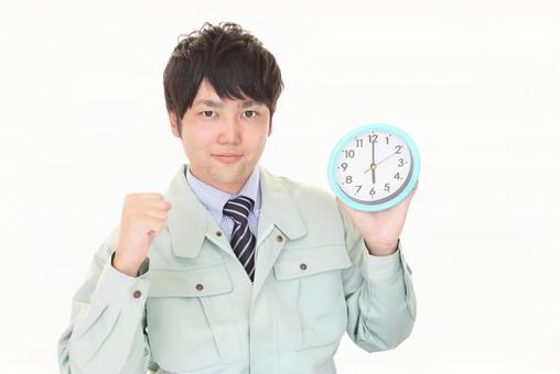 時鐘的男人