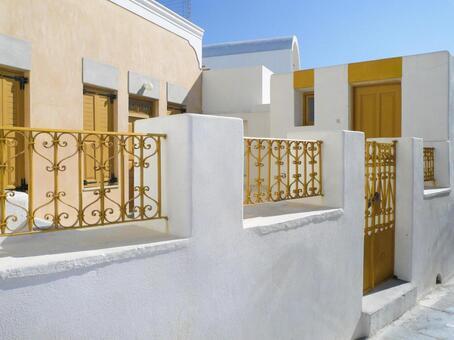 Santorini Oia houses