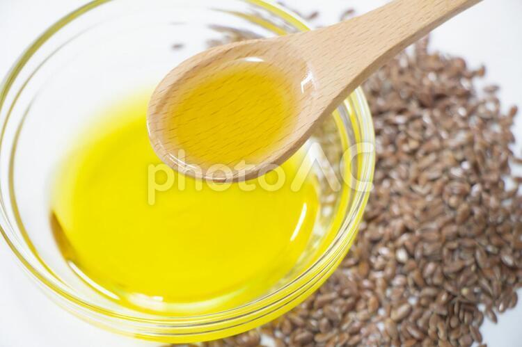 亜麻仁油の写真