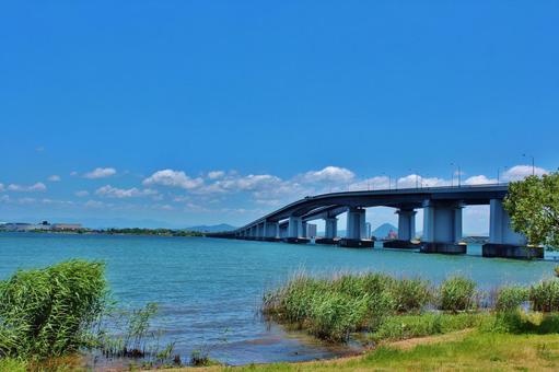 Lake Biwa Bridge