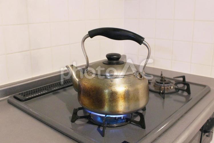 湯沸かしの写真