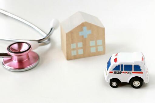 Ambulance heading for hospital 2