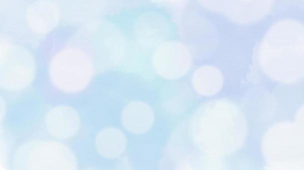 Blue glitter watercolor background