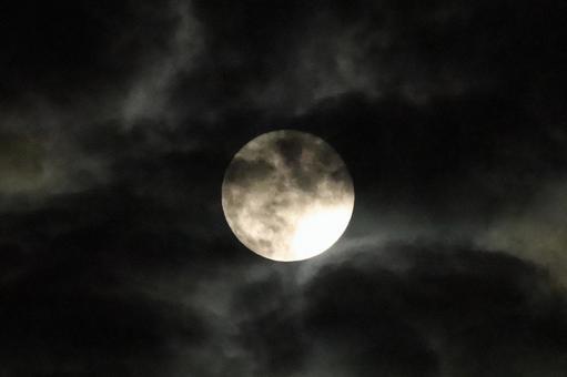 Full moon and moon 2021