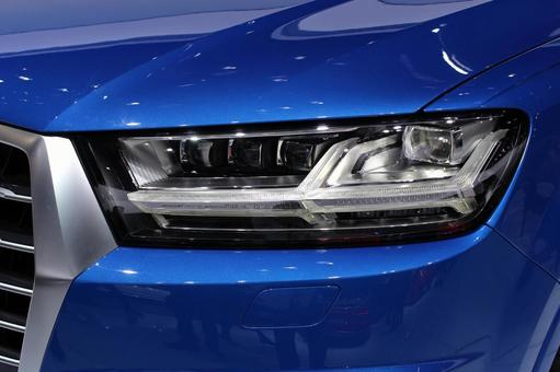 Automobile headlight headlamp parts imported car blue