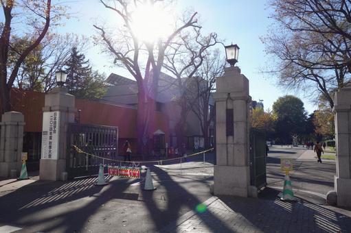 Hokkaido University front gate