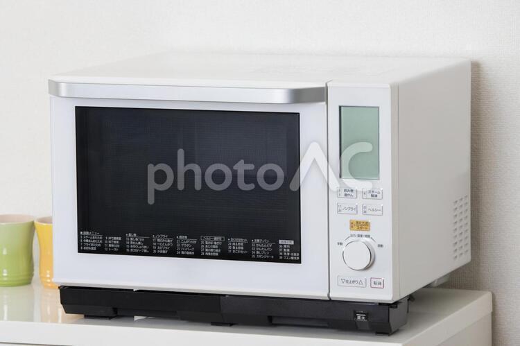 家庭用電子レンジの写真