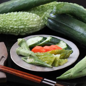 Rice bran pickles