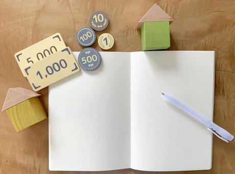 Money management Housekeeping book 03