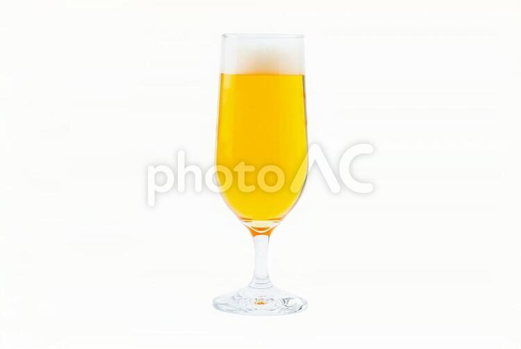 生ビール(PSD切り抜き素材)の写真