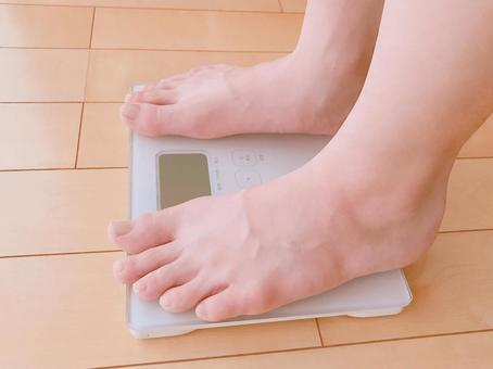 Person who weighs