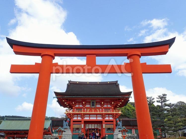 伏見稲荷大社(鳥居4)の写真