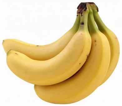 Banana (PSD has transparent background/cutout path)