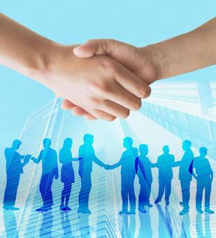 Contract establishment-handshake