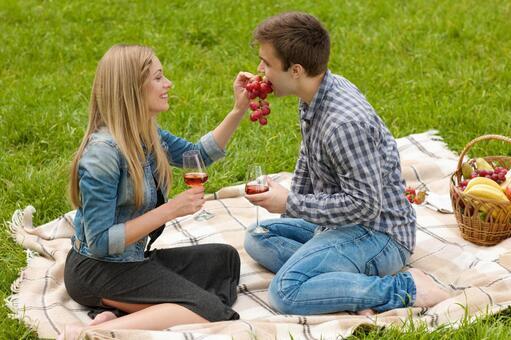 夫婦和葡萄11