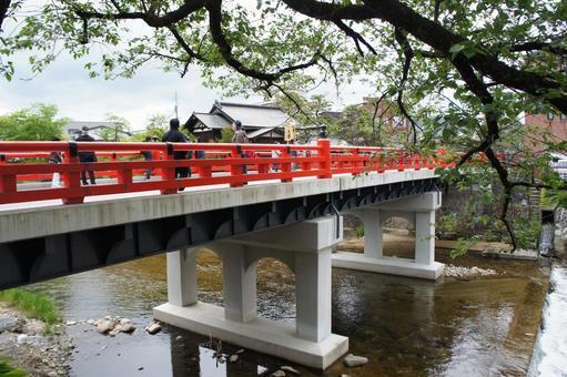 다카야마의 中橋