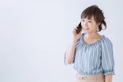 智能手機和女人(微笑)