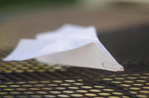 Paper flying machine 123