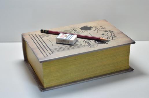 Book and writing utensils
