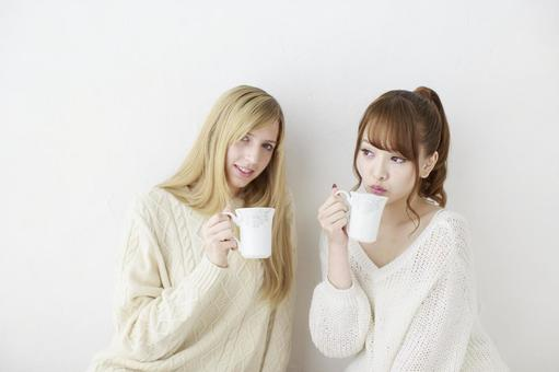 Female friend Foreigner and Japanese 20