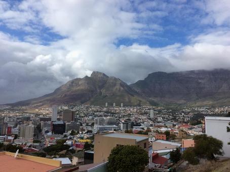 남아프리카 공화국 케이프 타운과 테이블 마운틴
