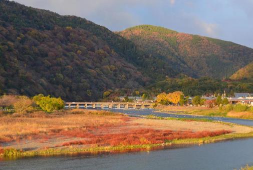 Autumn in Arashiyama, Kyoto 01