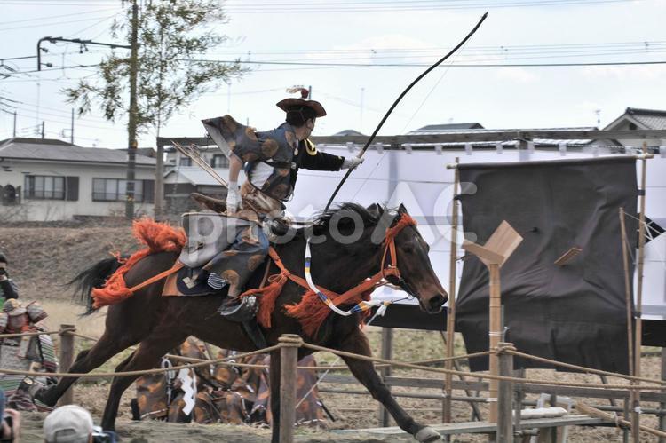 小田原梅祭り 流鏑馬の写真