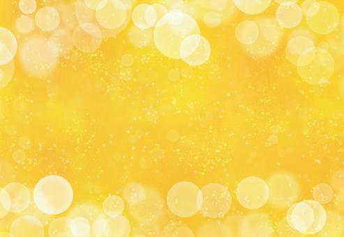 Easy-to-use yellow gold background material