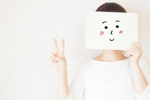 脸和姿势7(いいい)