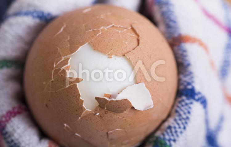 ゆで卵3の写真