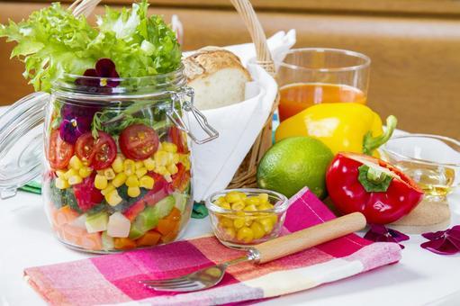 Jar salad _ 6
