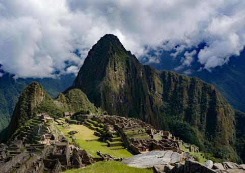 남미 페루의 세계 유산 마추피추 유적